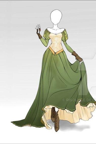 Renaissance fashion design