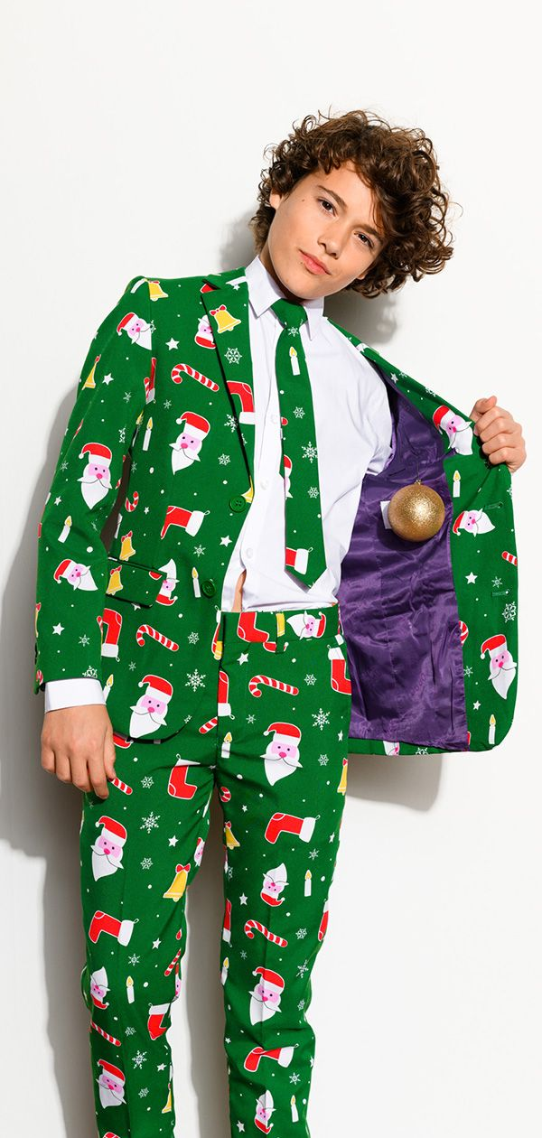 fcb6cf5790269 Christmas fashion 2018 with the suits from OppoSuits | Christmas Outfit  Ideas | Ugly christmas sweater suit, Kids christmas outfits, Christmas suit