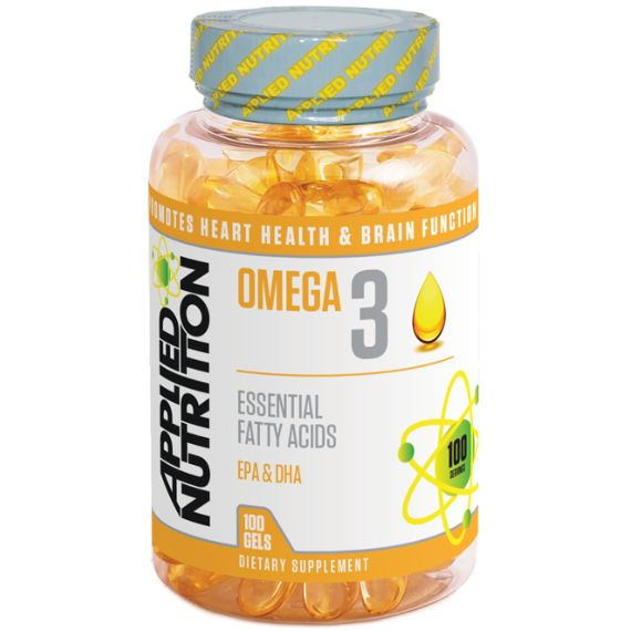 Applied Nutrition Omega 3 1000mg | EFA/Oils - The UK's Number 1 Sports Nutrition Distributor | Shop by Category – The UK's Number 1 Sports Nutrition Distributor | Tropicana Wholesale