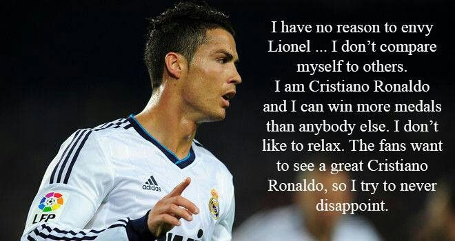 cr7 quotes about messi - photo #9
