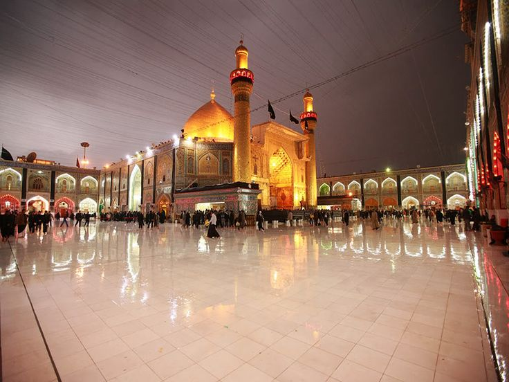 Shia Islamic Wallpapers With Quotes H Imam Hussain Shrine Karbala Iraq Amazing Places