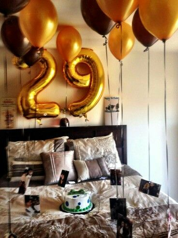 Best 25 birthday room surprise ideas on pinterest for Room decoration ideas for 50th birthday