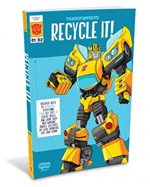 New Transformers Recycling Guide On Amazon For Preorder