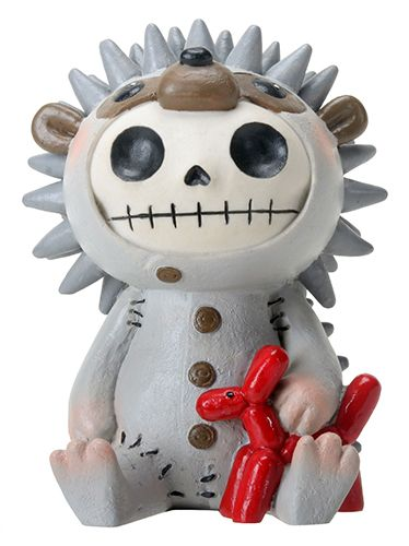 Hedgehog Hedrick Furry Bones Skellies Medium Figurine [8418S] - $13.99 : Mystic Crypt, the most unique, hard to find items at ghoulishly great prices!