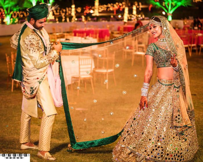 Photographer - The Perfect Pose! Photos, Hindu Culture, Beige Color, Destination Wedding, Bridal Makeup, Groom Sherwani pictures, images, vendor credits - Amrapali Jewellery, WeddingPlz