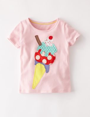 I've spotted this @BodenClothing Big Appliqué T-shirt Ballet Pink Ice Cream