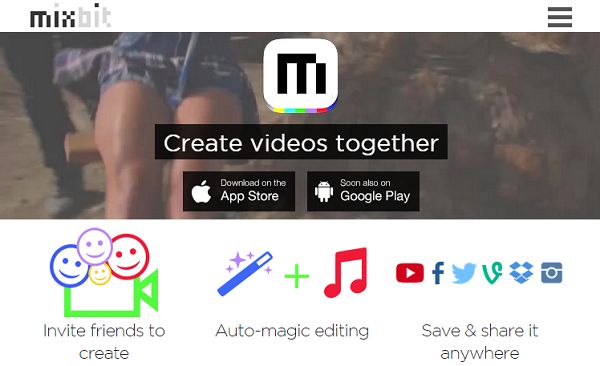 This is an app and website from the creators of YouTube. It's a video creation platform where users shoot up to 16 seconds of video on their mobile device and mix it up collaboratively online into a feature film of up to an hour in length. Imagine a swarm of camera all capturing video for a collaborative project!