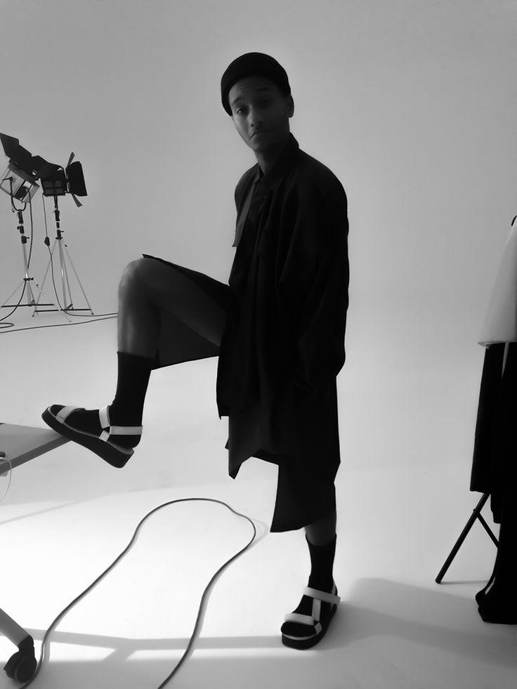 unconventional Spring/Summer 2015 Studio Shoot Backstage