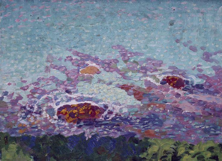 Ocean Coast | Maurice Denis | [1870-1943] | Nationalmuseum, Sweden | Public Domain Marked