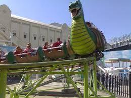luna park sydney rides roller coaster - Google Search
