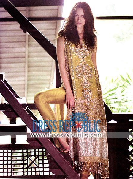 Sana Safinaz Pakistani Designer Dresses 2014  Sana Safinaz EID Collection 2014, Buy Sana Safinaz Dresses Online at Dress Republic.com Online Fashion Store. by www.dressrepublic.com