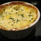 Double Cheesy Au Gratin Potatoes... so easy, why don't I make it more often?