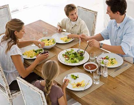 Kids Eating the Main Meal - Cooking for Busy Mums