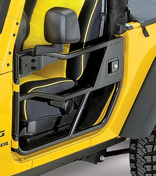 For my scared little girlfriend- HighRock 4x4™ Element™ Front Doors & Mirrors | Jeep Parts and Accessories | Quadratec