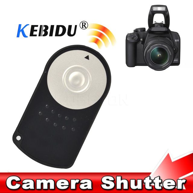 Kebidu New Rc 6 Rc6 Ir Infrared Wireless Remote Control Camera Shutter Release For Canon Eos Dslr 5d Mark Ii 500 550 600 650 D Review Camera Shutter Remote Control Dslr