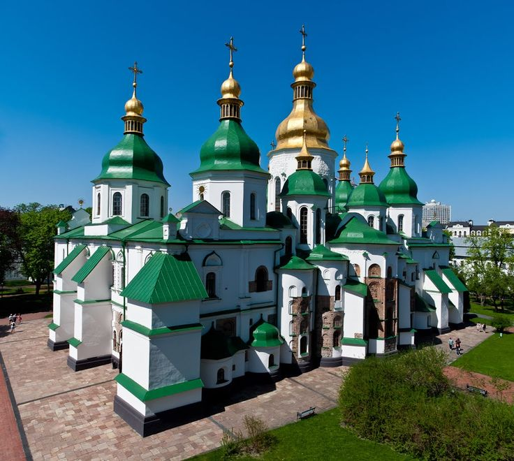 Cathedral of St. Sophia, Kiev, Ukraine | Софийский собор / Saint Sophia Cathedral in Kiev