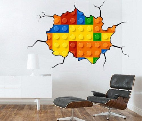 Best Austins Room Images On Pinterest - Lego wall decals vinyl