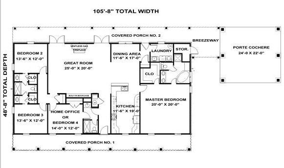 3 Bedroom 3 Bath Cottage House Plan Alp 03yk Country Style House Plans Country House Plans Rectangle House Plans