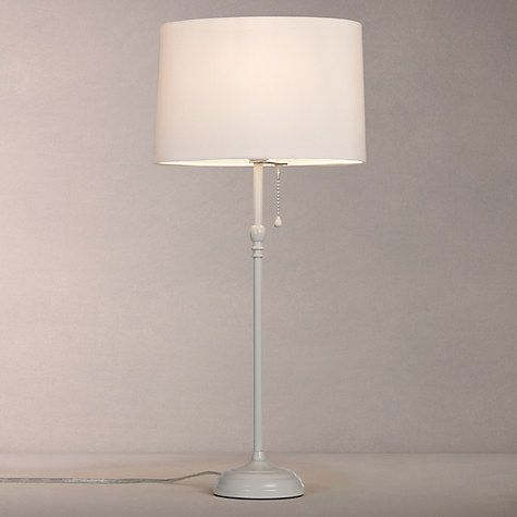 Buy John Lewis Isabel Tall Table Lamp, Grey Online at johnlewis.com