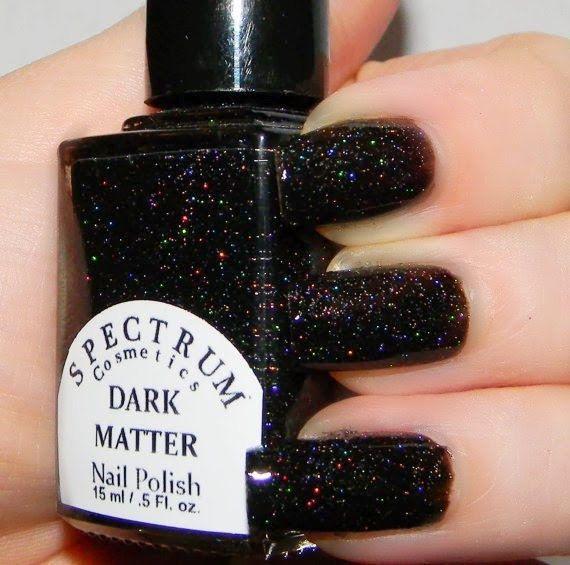 Spectrum Holographic Nail Polish: Spectrum Cosmetics - Dark Matter