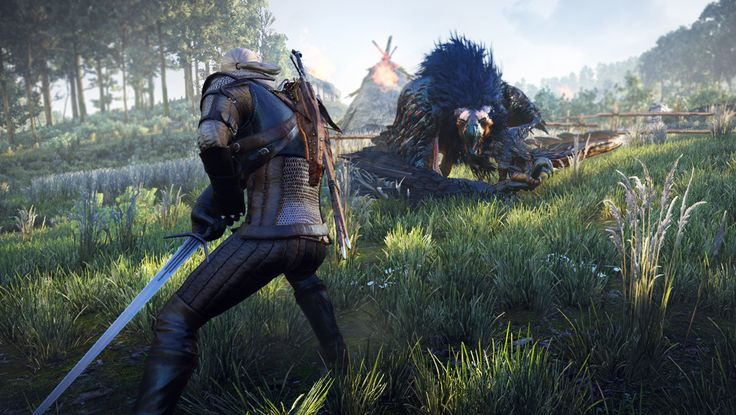 The Witcher 3: Wild Hunt shows off werewolves, witches, and severed ears | GamesRadar