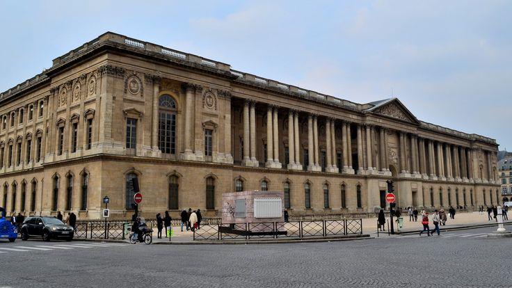 The colonnade, 1643-1715 Louis Le Vau, Claude Perrault, Charles Le Brun, the Palais du Louvre, Paris, France