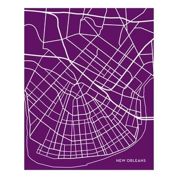 New OrleansNew Orleans, Orleans Cities, Favorite Cities, Cities Maps, Orleans Maps, Orleans Plum, Maps Art, Jenna Sue, Plum 16X20
