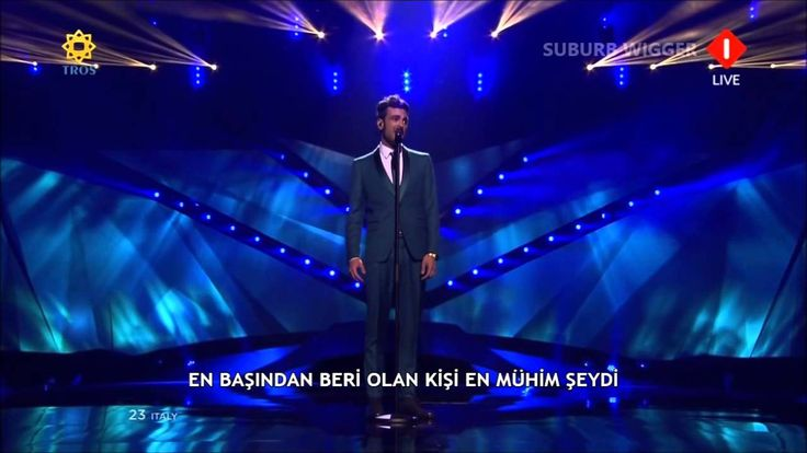 Eurovision 2013 Türkçe Çevirileri | İtalya - Marco Mengoni - L'essenziale