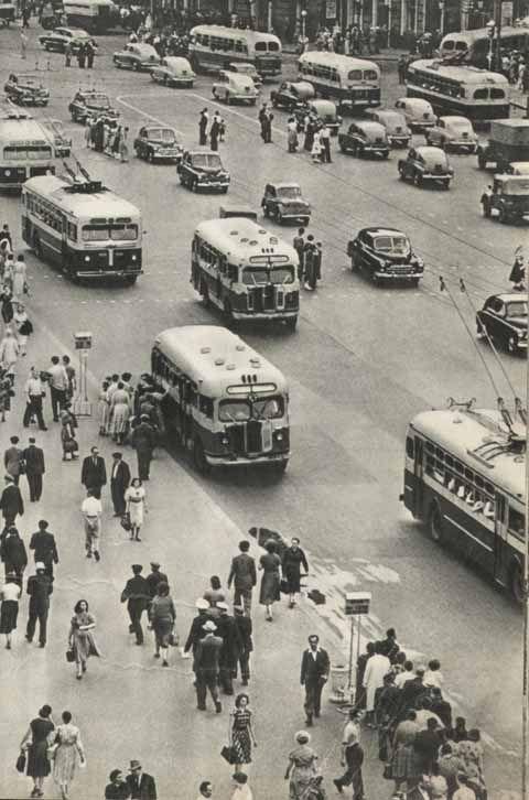 Moscú años 50