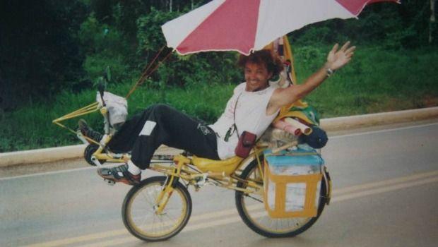 Ciclista-cineasta do Acre inicia nova jornada pelo Brasil - Portal Amazônia