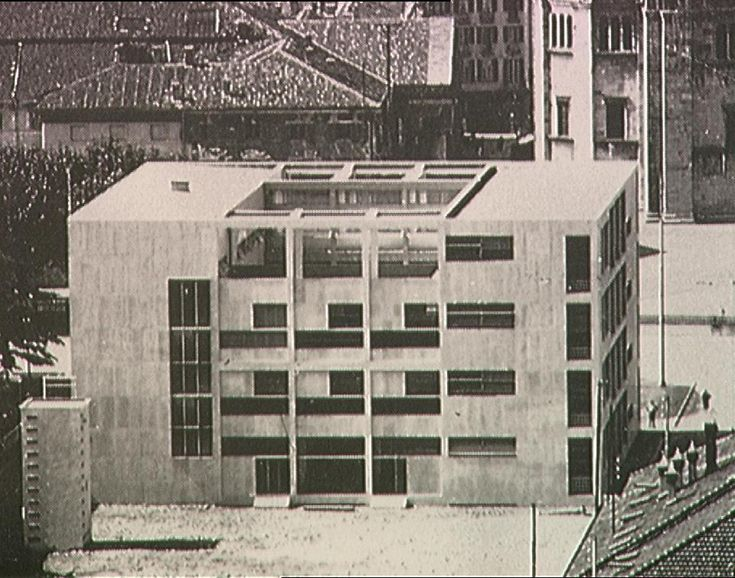 1165 best images about modern architecture on pinterest for Giuseppe terragni casa del fascio