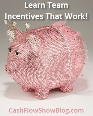 LOVE this article from DSWA member, Deb Bixler!  Team Incentives – Get Your Team To Conference with team training incentives that work! http://www.createacashflowshow.com/education-training/team-meeting-incentives-training-themes.htm