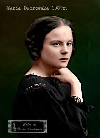 """Maria Dąbrowska...Za Onetem : Nigdy nie mówiły o sobie """"lesbijki"""". Bały się tego słowa. Ich przyjacielska relacja pełna była jednak erotycznych uniesień. """"Nawet najżywsza miłość jej nie wystarczy. Ona potrzebuje adoracji. Tego nie potrafię dać nikomu"""" – notowała w 1952 roku w dzienniku Anna Kowalska, z którą Maria Dąbrowska dzieliła ostatnie lata życia."""