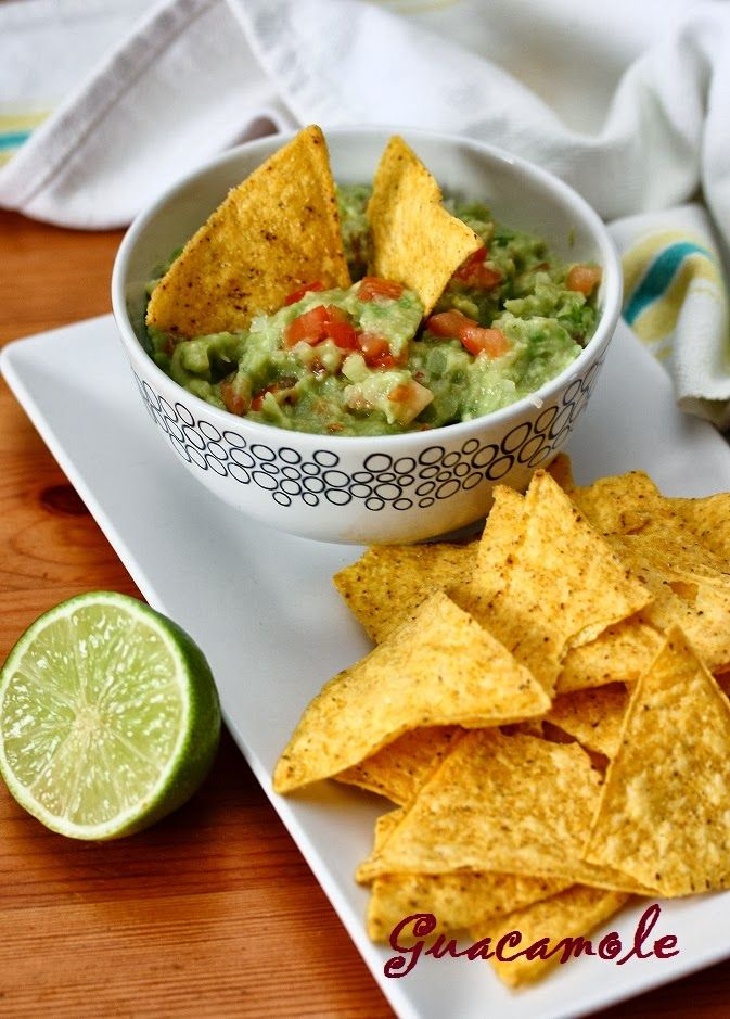 Guacamole : simple and tasty!