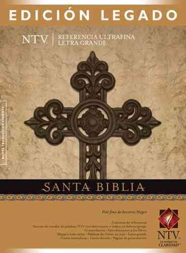 Holy Bible: Edicion Legado NTV Piel de becerro Negro / New Translation Version, Legacy Edition,, Calfskin L...