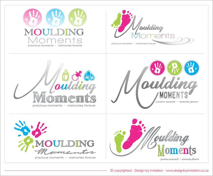 Logo Design Optiona - Moulding Moments © www.designbyinvitation.co.za