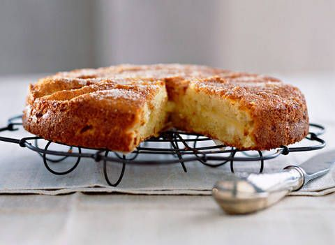 Apple teacake: Any type of apple can be used instead of a pink lady, including Bonza, Red Delicious, Granny Smith and Golden Delicious.