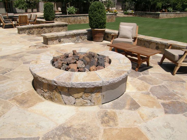 17 best images about outdoor fire pits fireplaces on for Eldorado stone fire pit