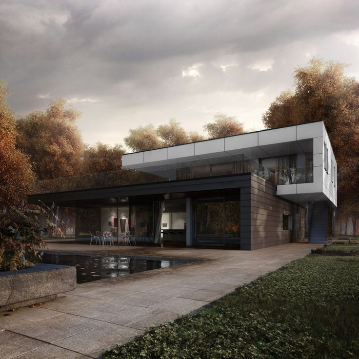 25 best ideas about 3d architecture on pinterest modern for Architecture 3ds max