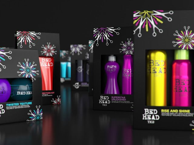 TIGI's Christmas Pack on Packaging of the World - Creative Package Design Gallery