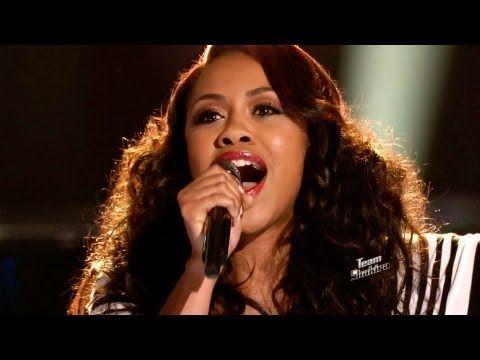 Sasha Allen: Next To Me - The Voice Highlight - YouTube