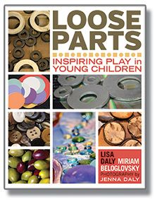 Newly Released book from Redleaf Press.  The book's hundreds of photographs showcase and array of loose parts in early childhood settings and home environments.