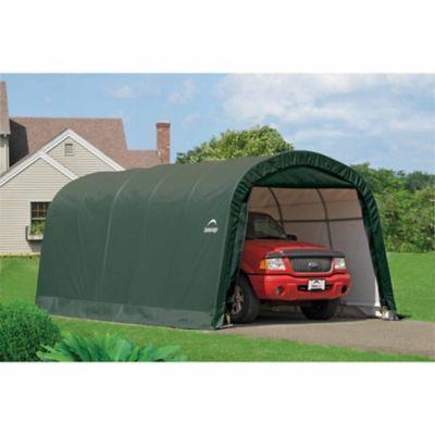 ShelterLogic Landowner Series Garage-in-a-Box RoundTop, 12 ...