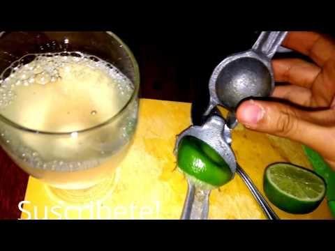 (259) Corta el Limón de esta forma ponlo en agua y Bicarbonato de Sodio y dile Adiós a la Gastritis, úlcer - YouTube