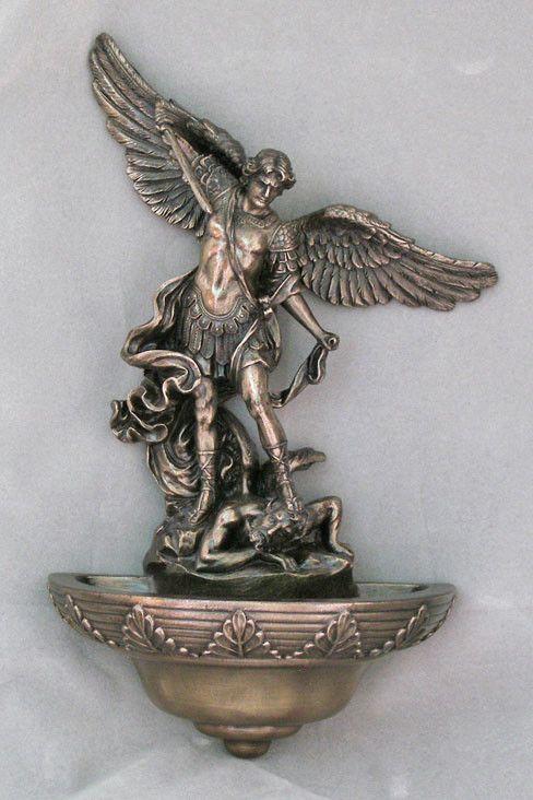 Saint Michael Holy Water Font