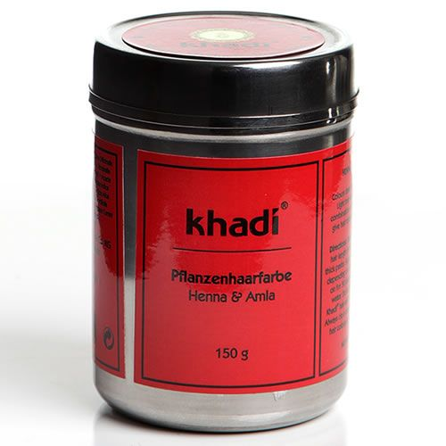 khadi herbal natural hair colour henna amla - Coloration Henn Acajou