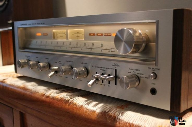 Image result for Pioneer Stereo Receiver model SX-750