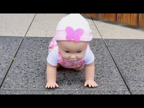 Baby Annabell Brother:  Boy Baby Doll Cries Tears, Pee On Potty, and Sleep like Real Baby - YouTube