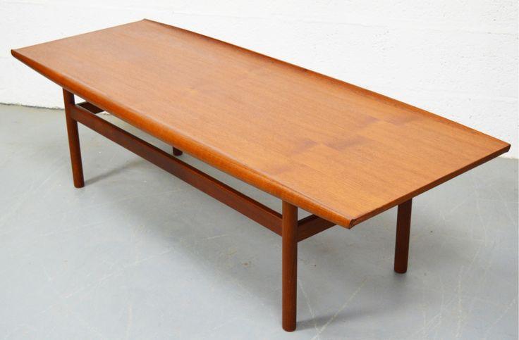 Mid Century Large Teak Danish Coffee Table