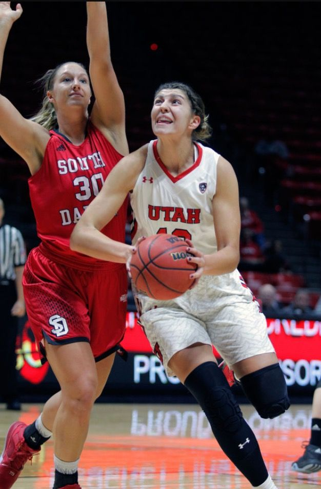 Huge shout out to Emily Potter from Winnipeg, MB on scoring her 1000th NCAA point as a member of the Utah Utes! (Photo: Steve C. Wilson)